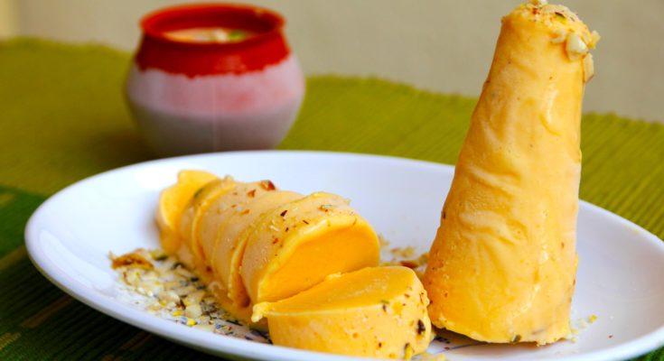 Индийское манговое мороженое Кульфи