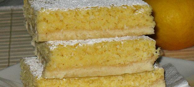 Лимонно-кокосовый пирог (Lemon-Coconut-Slice)