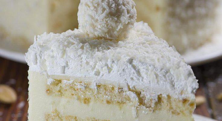 Миндально-Кокосовый Торт