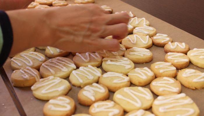 Пряничное заварное печенье
