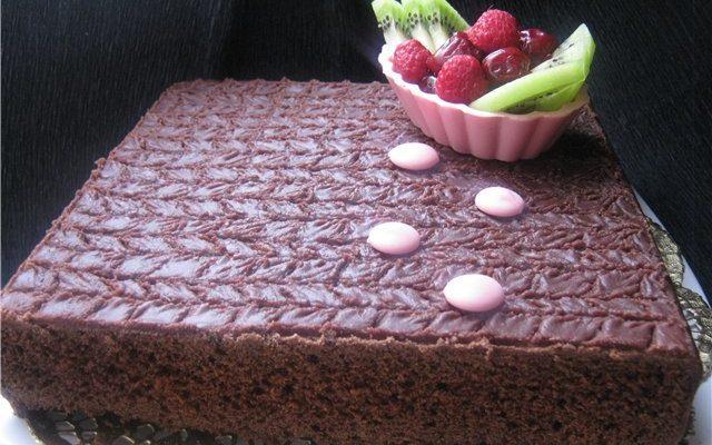 ШОКОЛАДНЫЙ ПИРОГ С ГЛАЗУРЬЮ (FAMILY CHOCOLATE CAKE)