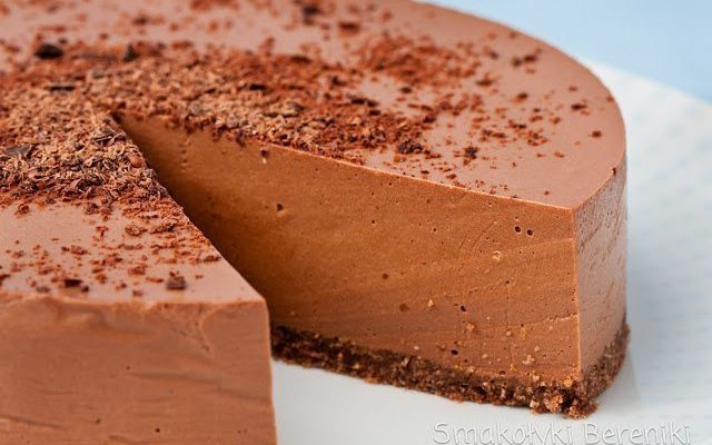 Шоколадно-йогуртовый чизкейк (без выпечки)