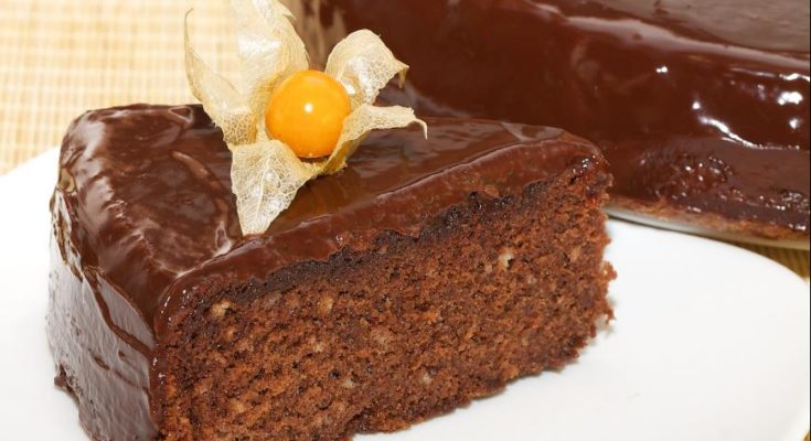 Шоколадный пирог из мультиварки