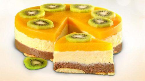 Торт «Манный» без выпечки