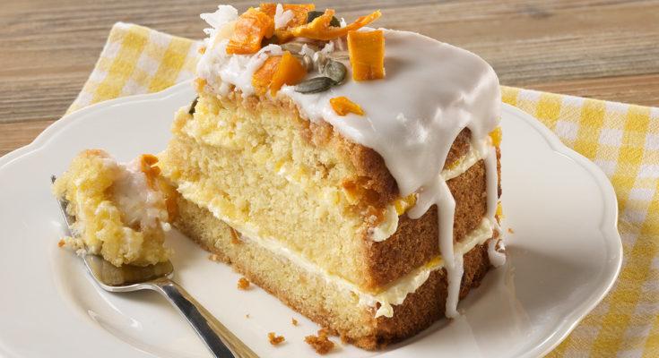 Торт Счастье (кокос, манго, лайм)