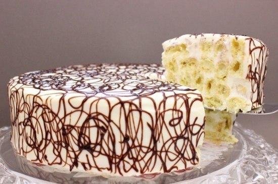 торта Дамские пальчики