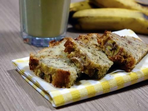Банановый диетический пирог