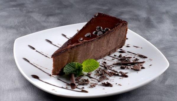 Диетический Шоколадный чизкейк