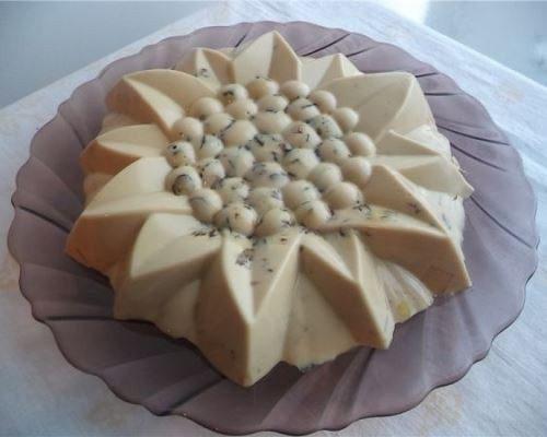 Диетический торт без выпечки «Творожно-кофейное суфле»