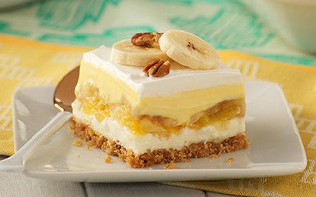 Классический банановый торт