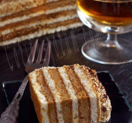 Кофейный торт без выпечки