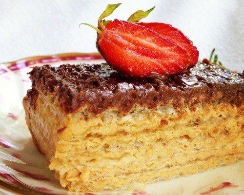 Вафельный диетический торт в домашних условиях