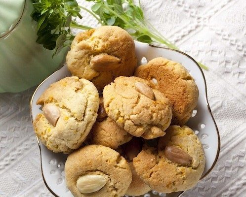 Апельсиново-миндальное печенье