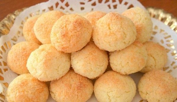Бельгийское кокосовое печенье