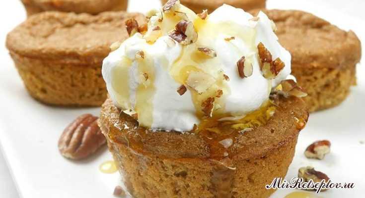 Невозможные кексы из яблочного пирога