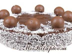 "Нежный торт ""Баунти"""