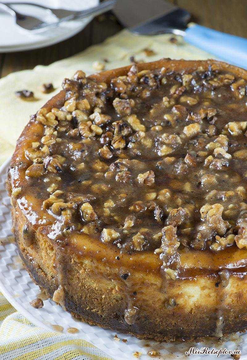 Чизкейк с ореховым пирогом