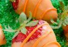 Пасхальный клубничный десерт