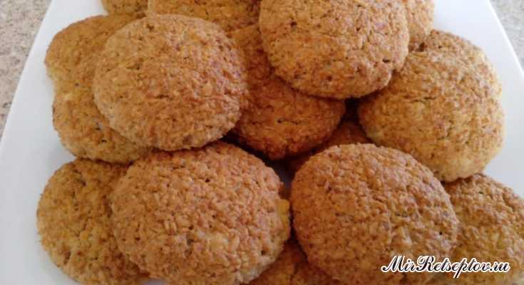 Как сделать овсяное печенье с творогом