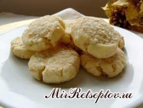 Печенье с кокосовым орехом мандарина