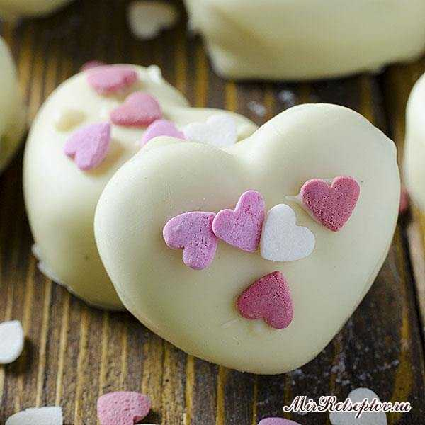 Орео трюфели Валентинские сердца