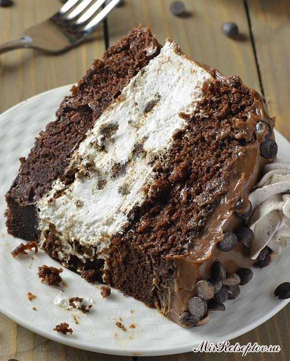 Шоколадный торт Oreo Чизкейк