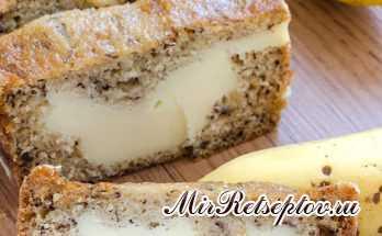 Кремовый сырный Банановый хлеб