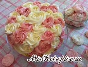 Кремовый тортик