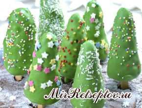 Рождественская елка Чизкейк