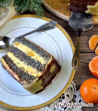Мако - Гоголь-торт с цитрусовой ноткой