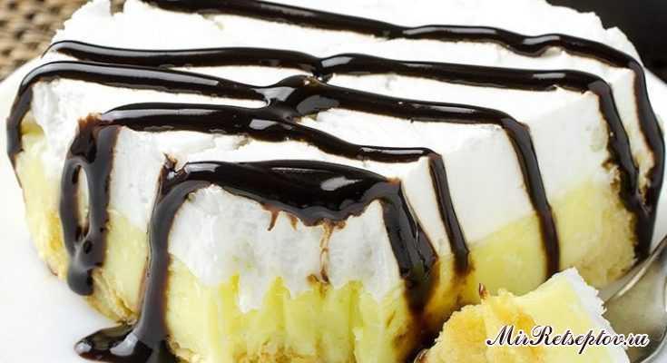 Эклеарный торт