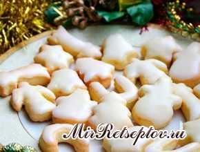 Новогоднее апельсиновое печенье