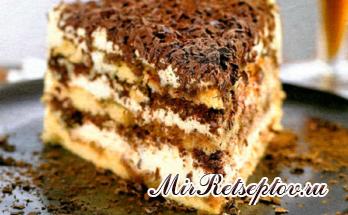 Самый лучший рецепт торта Тирамису