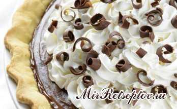 Французский шелковый пирог