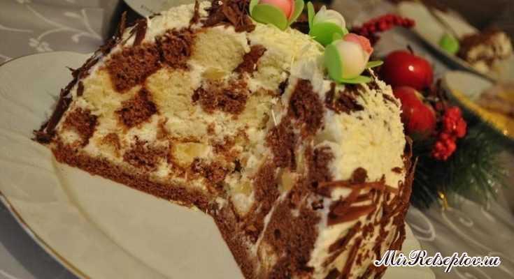 "Классический торт ""Панчо"" с ананасами"