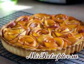 Чудо-пирог из яблок гораздо вкуснее шарлотки
