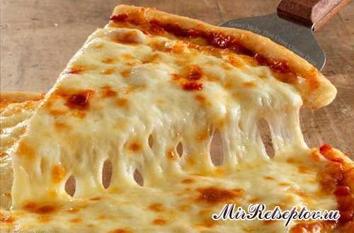 Рецепт оригинальной итальянской пиццы