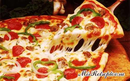 Самый популярный и любимый вариант – пицца традиционная