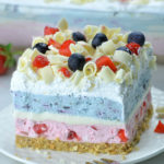 Очень ягодный десерт торт Лазанья