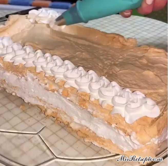 Вкуснейший Меренговый Торт